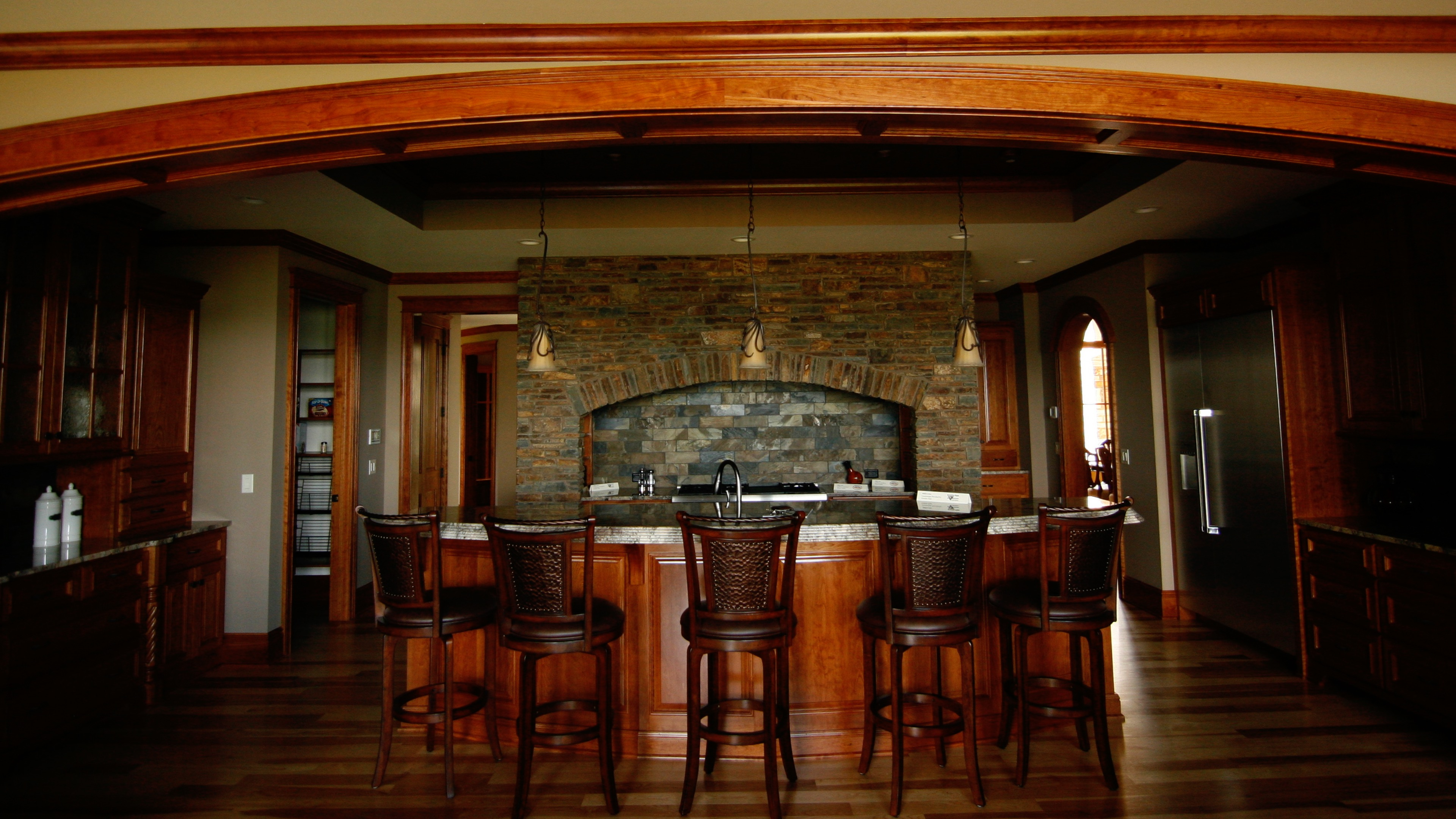 luxury|bar|curved|casing|root|river|hardwoods