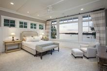 Master Bedroom|Crown Moulding|Root River Hardwoods